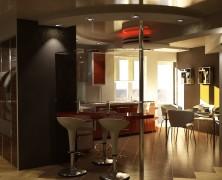 Amenajare interioara – apartament Ciocana, 50m2, Chisinau