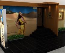 Design exterior – fatada magazin bijuterii, Chisinau
